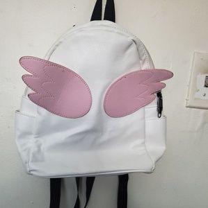 Hot Topic Kawaii Angel Wing Mini Backpack